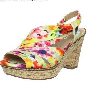 Multicolored Naturalizer sandals